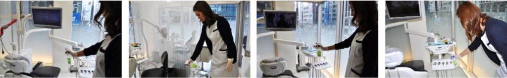 シトラバスター 歯科医院での使用例